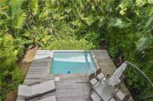 Private pool vacation rental key west