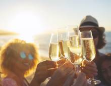 key west new years toast