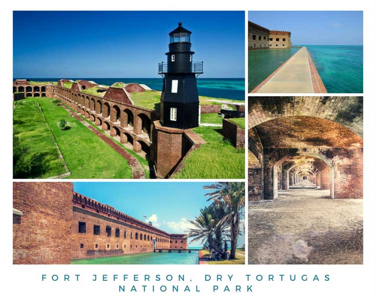 Fort Jefferson, Dry Tortugas National Park near Key West, FL