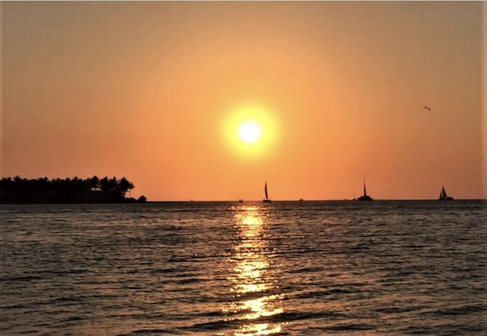 Fort Zachary State Park Sunset in Key West