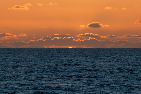 Green Flash Sunset in Key West