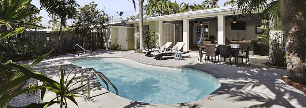 key west rental with private pool