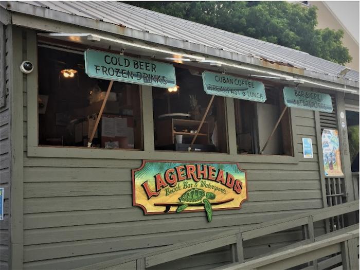Lagerheads Beach Bar Key West