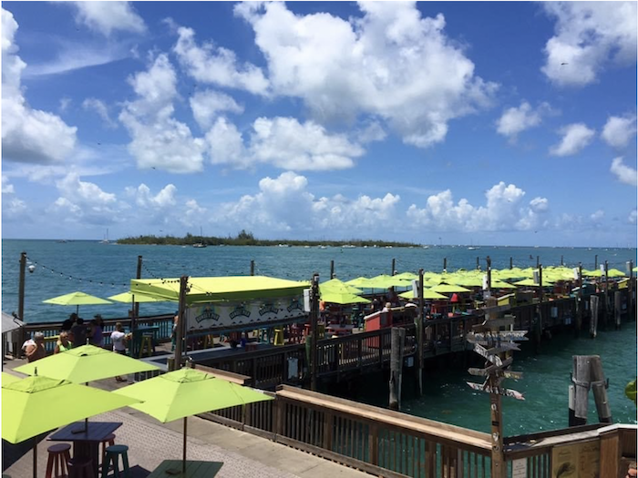Sunset Pier at the Ocean Key Resort Key West